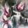 The magnolia - 90 cm * 90 cm