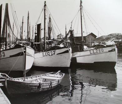 Smögenhamnen år 1959.
