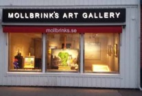 Mollbrinks Art Gallery i Kungshamn.