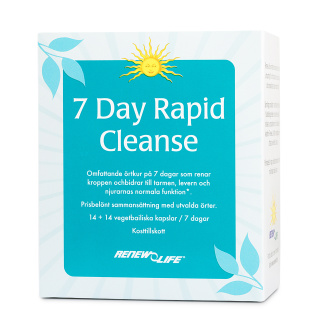 7 Day Rapid Cleanse, 7 dagar