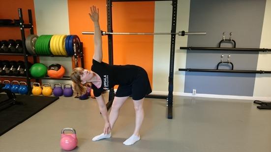 Se till att du har tillräckligt med rotation i ryggen.