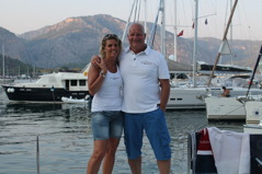 Annette & Bengt i juli 2015