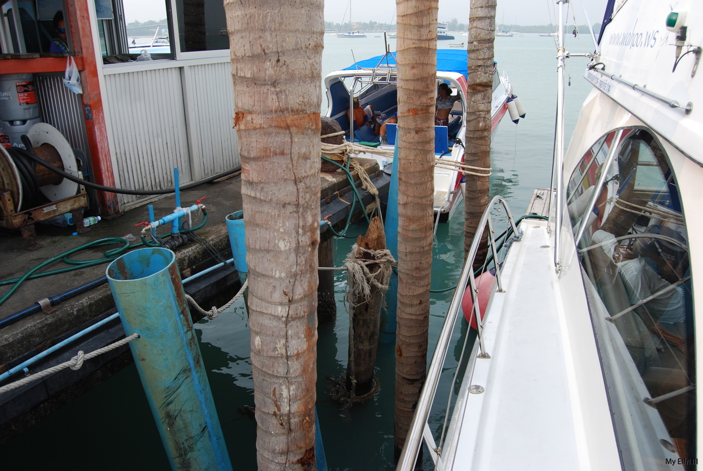 Sarasota län vatten krok upp