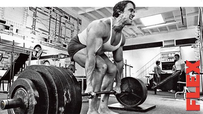 Kanske lite klyschigt med en bild på Arnold...men det är min blogg så jag kan göra som jag vill - HA!