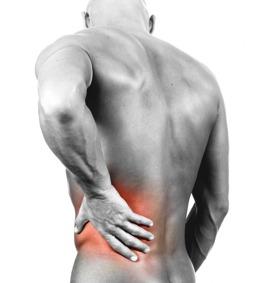 ont i ryggslutet höger sida