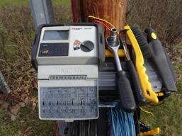 Mätbrygga samt Instrument med tillbehör för jordtagsmätning