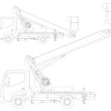 Kranbil för SSAB Årsredovisninglastbil2