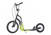Sparkcykel Yedoo City svart/grön