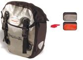 XLC 'Globetrotter'  Lowrider Bag Set black/red waterproof