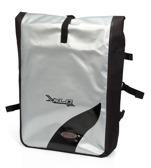 XLC Backpack 'Globetrotter' black/silver waterproof