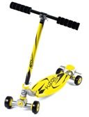 City Scooter Fuzion Sport Yellow Alu