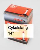 Slang 14x1 3/8, Cykelv i kartong