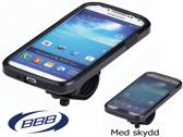 Patron GalaxyS4 mobilhållare svart