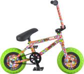 Rocker 3+ Crazymain Smarties Freecoaster Mini BMX Cykel