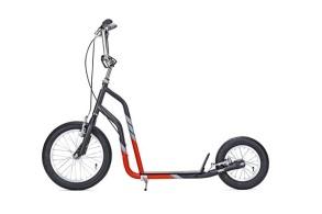 Sparkcykel Yedoo city svart/röd - Yedoo city svart/röd