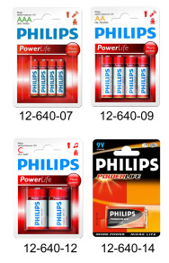 Philips Power Life - ELECTRIC POWER LR03 AAA. 1.5V. 4-pack