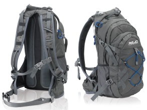 XLC Bike backpack BA-S48 - grey/blue 18Liter