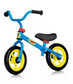 Bamse Springcykel 10' - Blå