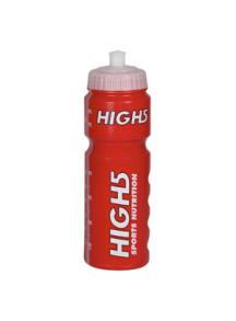 High5 Vattenflaska - 750 ml röd