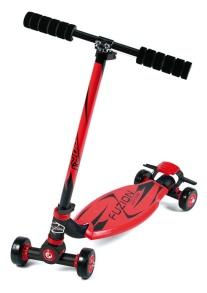 City Scooter Fuzion Sport Red Alu - Röd/svart