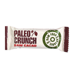 Paleo Crunch Raw Cacao -  6st halv låda 22kr st