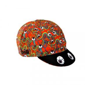 Cinelli ANA Benaroya CYCLOPS hatt röd - ANA Benaroya CYCLOPS hatt röd