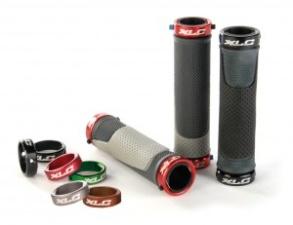XLC Bar Grips m. Screwssicherung black/grey, 130mm SB-Plus