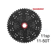 Kassett Sunrace CSMX80 11-speed 11-50T Svart