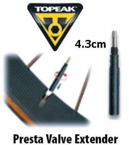 Topeak ventilförlängare - Topeak ventilförlängare