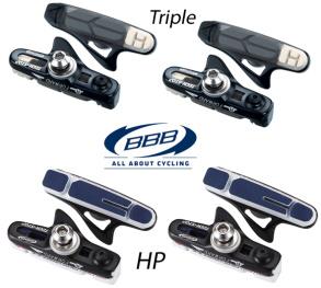 BBB Bromskassett TechStop Shimano/Sram/BBB trippel - Trippel colour - högre bromskraft