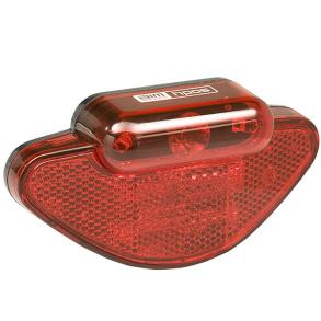 Belysning bak Carrier HP 0,5 W + två extra LED - Carrier HP 0,5 W + två extra LED