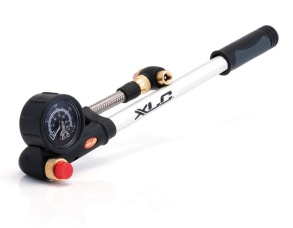XLC Suspension Pump HighAir Pro SB-Plus  med Precision-Manometer och Tube