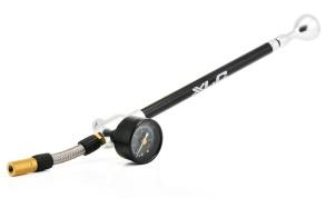XLC Suspension Pump HighAir SB-Plus  med Precision-Manometer och Tube