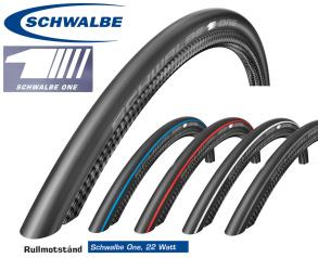 Schwalbe One V-Guard Vikbart - svart blå