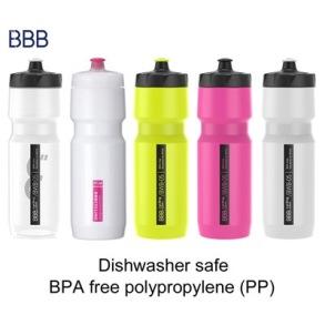 BBB Flaska CompTank 750ml - Transparant/Svart