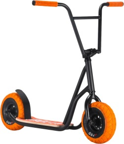 Rocker Rolla Big Wheel Scooter - Svart