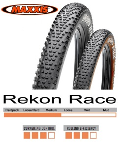 Maxxis Rekon Race 29, TubelessReady - 29x2.25 120Tpi 2C/TR Svart