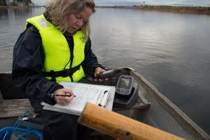Analys av sjö vid Arlanda