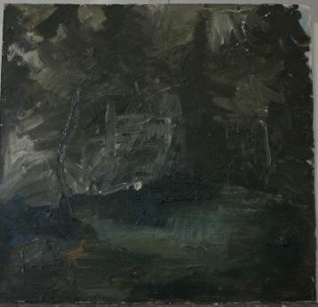 Dröm II/ Olja på pannå