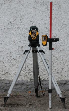 Två falls laser