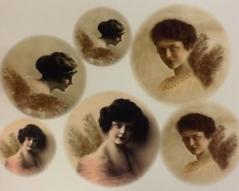 Stickers änglar