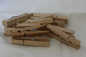 Klädnypor 4,8 cm 10-pack