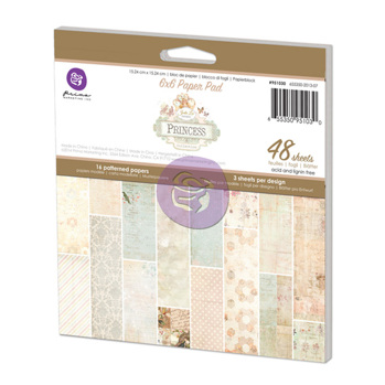 Princess 6x6 Paper Pad -