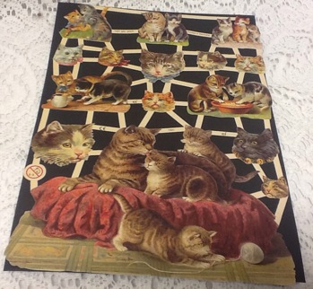 Bokmärken katter -