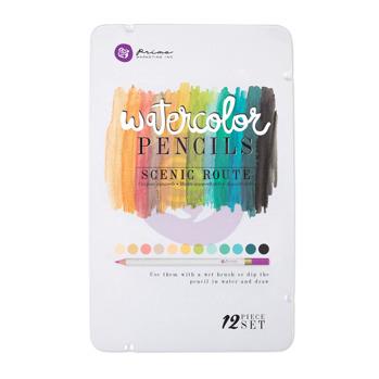 Prima Watercolor Pencils - Scenic Route 576691