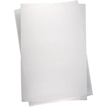 Krympplast vit A4, 1 ark -