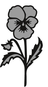 MD Craftable Tinys Pansy CR1305 -