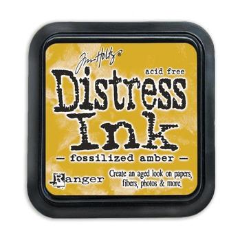 Distress Ink Pad Fozzilized Amber -