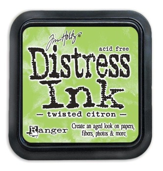 Distress Ink Pad Twisted Citron -