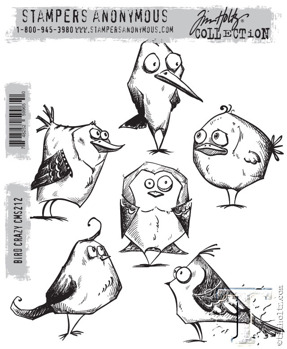 Tim Holtz Stampers Anonymous - Bird Crazy -